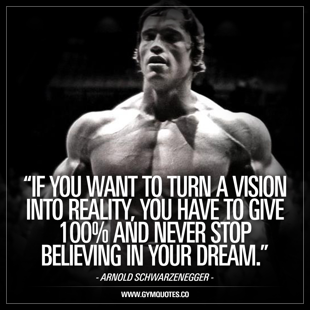 If You Want To Turn A Vision Into Reality