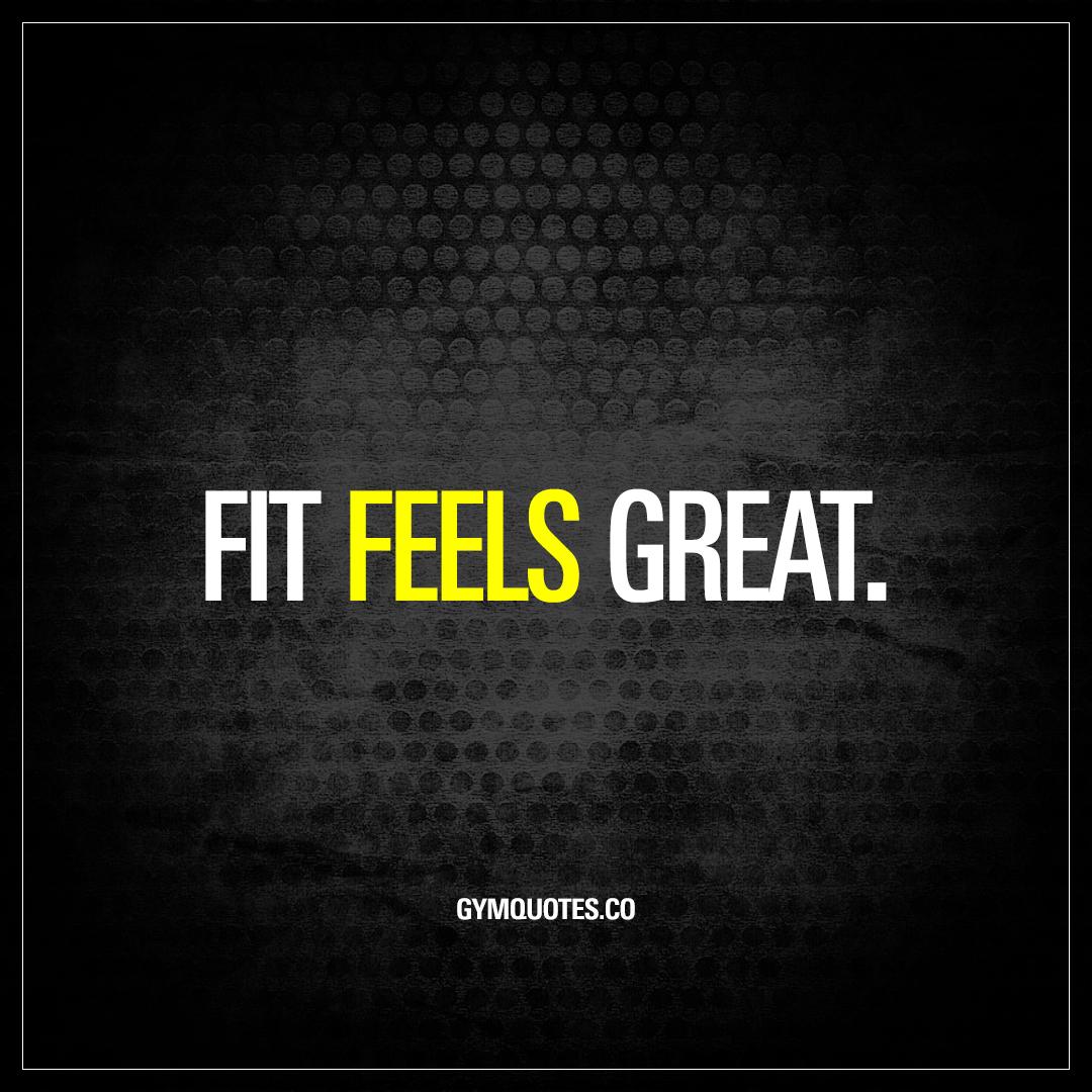 Fit feels great.