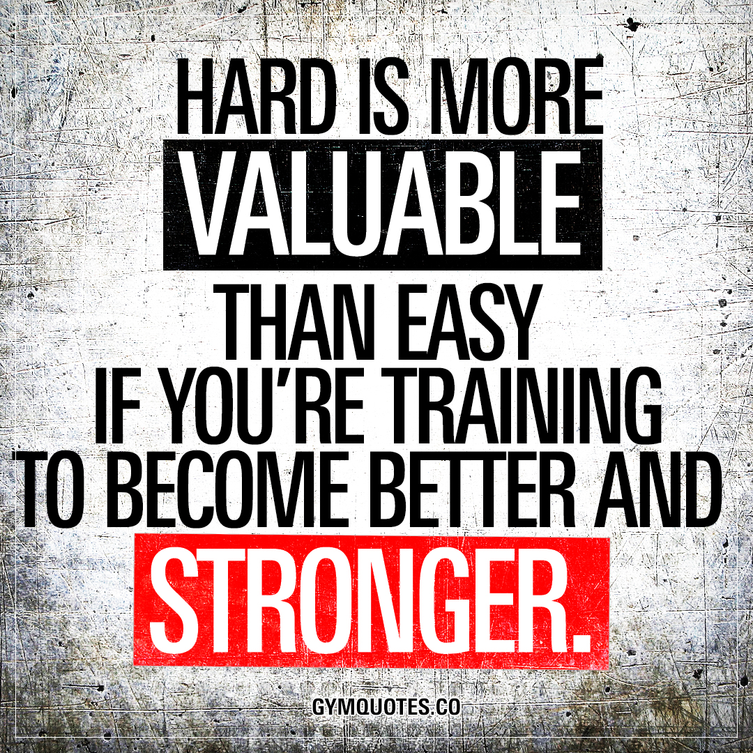 Hard Is More Valuable Than Easy If Youre Training To Become Better
