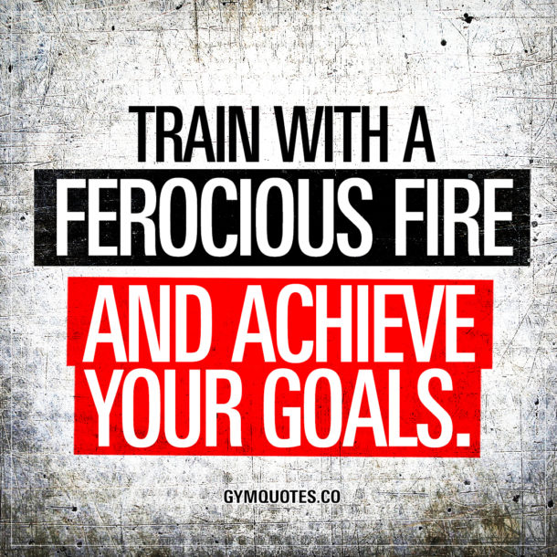 Achieving Goals Quotes: Get Your Training Motivation And Inspiration