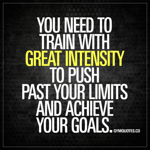Rage And Intensity Quotes: Get Your Training Motivation And Inspiration