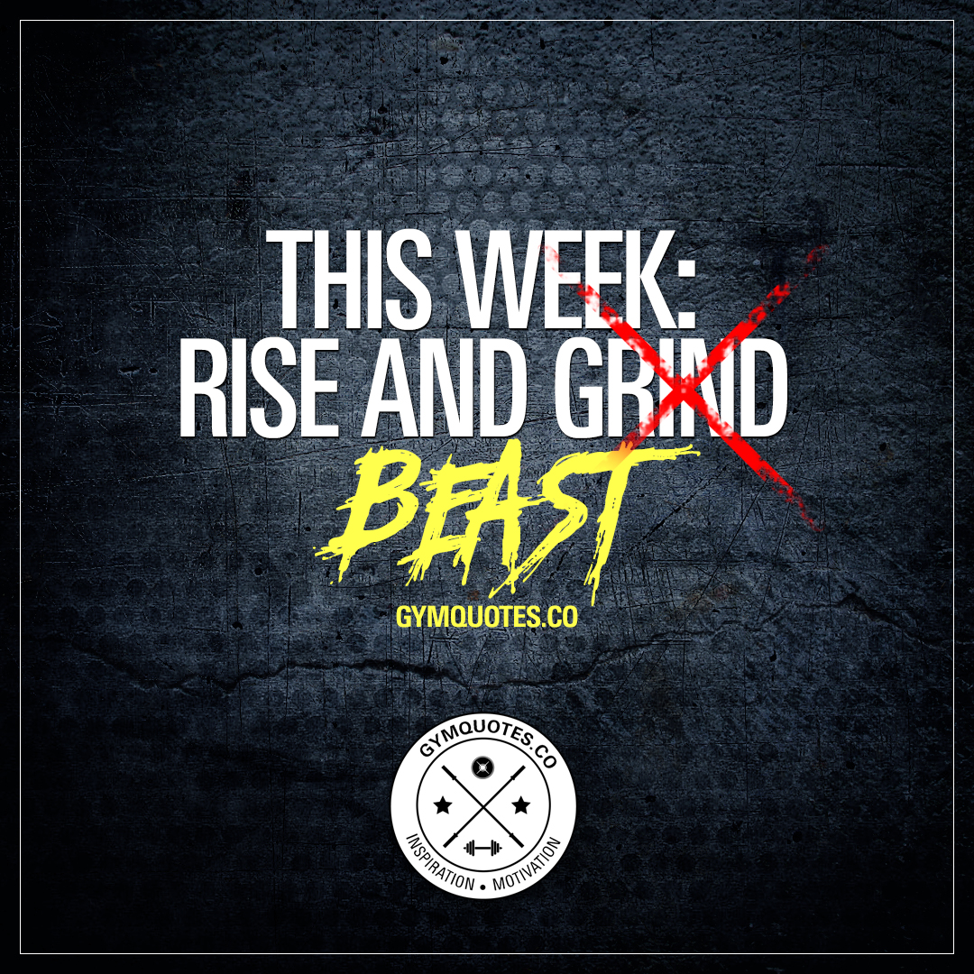 This week: Rise and beast.