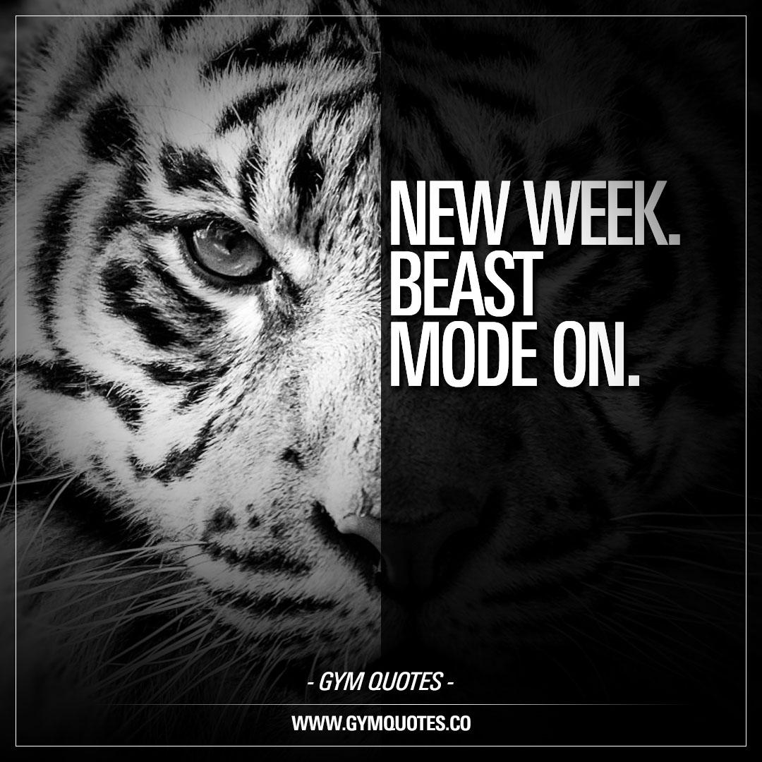 New Week. Beast Mode On.