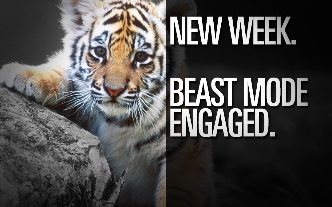 New week. Beast mode engaged.