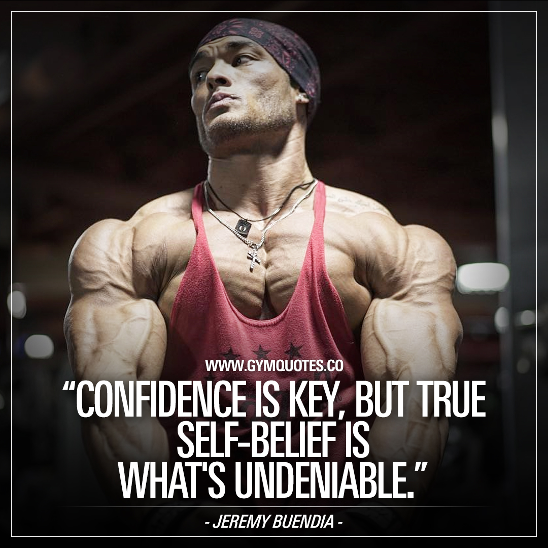 Confidence is key, but true self-belief is what's undeniable – Jeremy Buendia