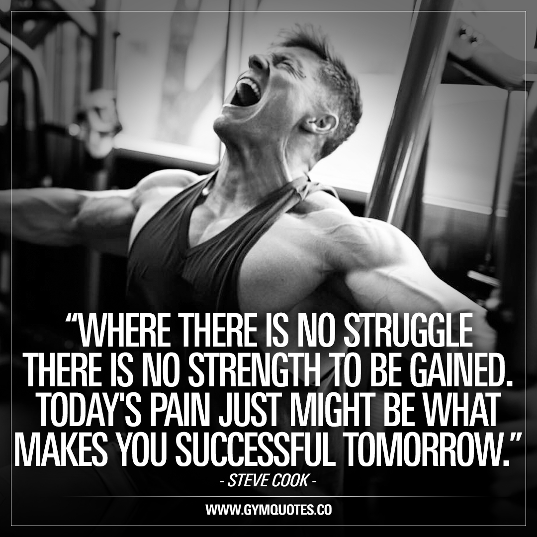 Inspirational Quotes Motivation: Workout, Gym And Fitness Motivation And