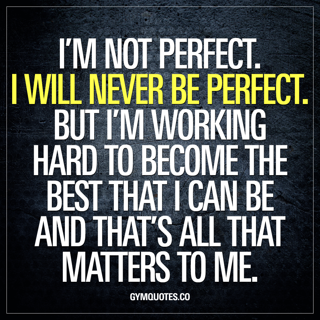Best gym quotes: I\'m working hard to become the best that I ...