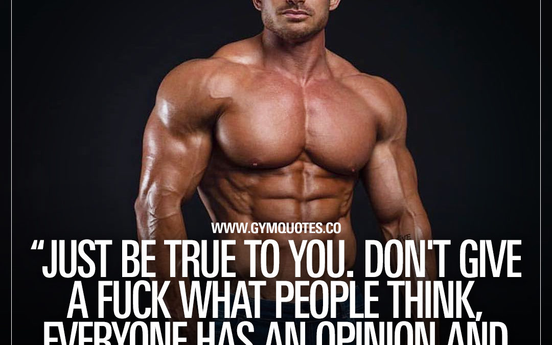 Just be true to you. Don't give a fuck what people think, everyone has an opinion and not everyone will love you.