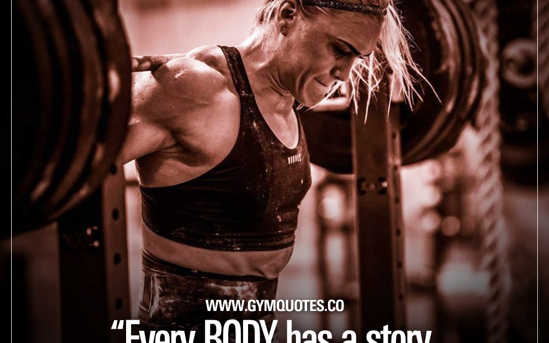 Every BODY has a story. Mine tells the story of HARD WORK – Katrín Tanja Davíðsdóttir.