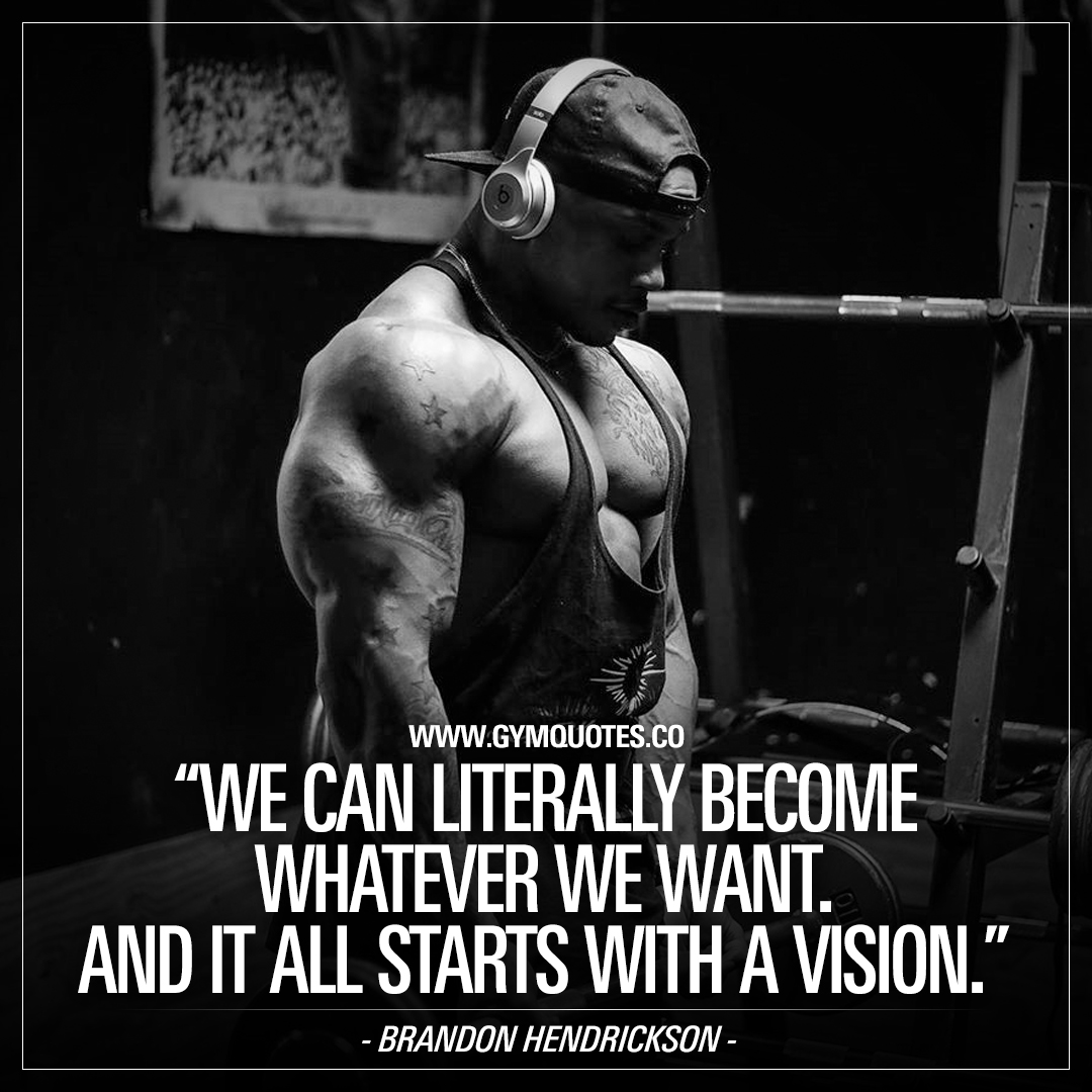 it all starts with a vision.